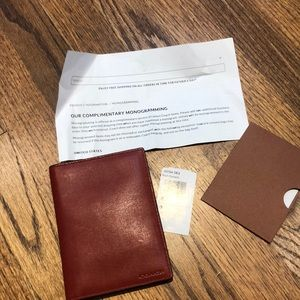 Other - Leather passport holder